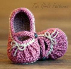 Zapatitos y sandalias a crochet para bebes