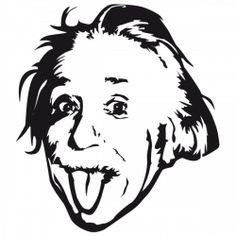 Sticker Einstein
