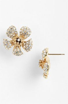 Cara Flower Stud Earrings