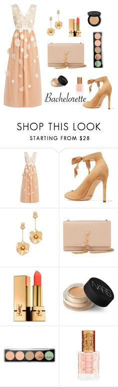 """""""#43"""" by gpramasita on Polyvore featuring HUISHAN ZHANG, Schutz, Kate Spade, Yves Saint Laurent, NARS Cosmetics, MAKE UP FOR EVER, Bobbi Brown Cosmetics and Bachelorette"""