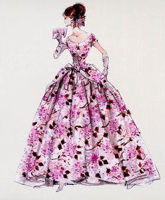 2012 Barbie Calendar Sketch