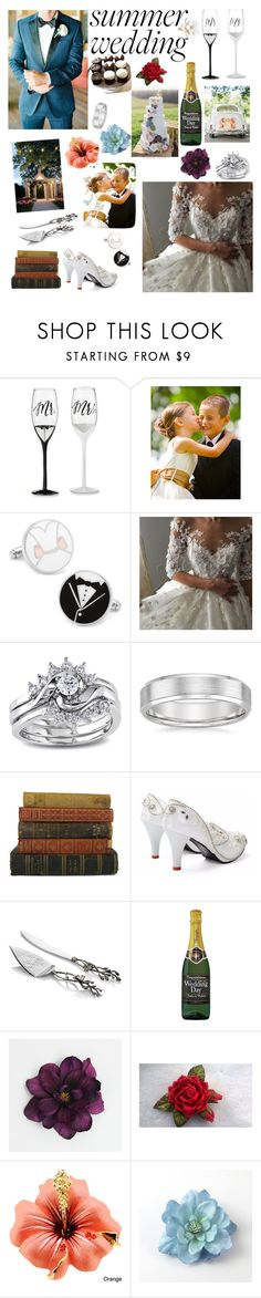 """""""Spring to summer"""" by thequeen112 ❤ liked on Polyvore featuring Kate Aspen, Cufflinks, Inc., Miadora, Michael Aram and Accessorize"""