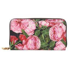 Women's Dolce&gabbana Rose Zip Continental Wallet ($745) ❤ liked on Polyvore featuring bags, wallets, rose fdo nero, shopper handbags, rosette bag, credit card holder wallet, continental zip wallet and dolce gabbana bags