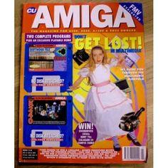 CU Amiga: 1994 - March - Don't Get Lost in Multimedia - O'Briens Retro & Vintage Manchester United Premier League, Premier League Champions, Multimedia, Magazines, Sims, Retro Vintage, March, Lost, The Unit