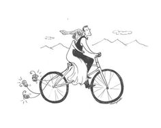 Grow old cycling with you! #growold #cycling #bike #couple #wed #cyclist