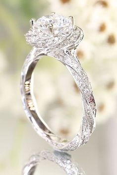18 Utterly Gorgeous Engagement Ring Ideas ❤ See more: http://www.weddingforward.com/engagement-ring-inspiration/ #wedding #engagement #rings