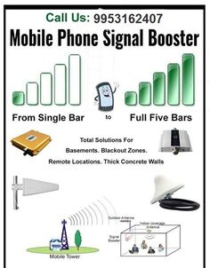 Booster Signal India provides Best Quality Mobile network Signal Booster services to the customers. Our Signal Booster solutions are easy to implement, simple and very user friendly making it ideal for all GSM, CDMA and Network. - See more at: http://boostersignalindia.in/ To know more about Booster Signal India: +91 9953162407