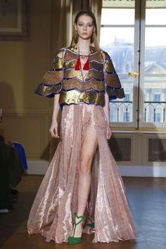 Lauren de Graaf for Schiaparelli SS17 Haute Couture