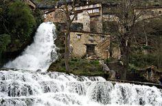 Cascada de agua en Orbaneja del Castillo - Burgos  por Carmen Molleda Fernandez