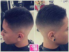 Corte de cabello para caballero Por: Brayan Mazuera Sede: Autopista Sur  Tel: 5522309 ¡El Corte del Sur Peluquería Tiene Tiempo Para Ti!
