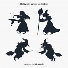 More than 3 millions free vectors, PSD, photos and free icons. Exclusive freebies and all graphic resources that you need for your projects Witch Characters, Flying Witch, Halloween Vector, Vector Free, Moose Art, Witches, Vectors, Card Ideas, Cards