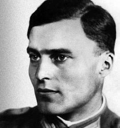 """Claus von Stauffenberg (1907-1944).jpg Held -- """"Es lebe unser heiliges Deutschland!(Seine letzten Worte)"""