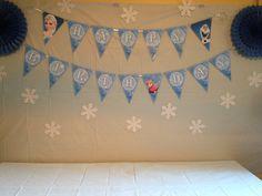 Items similar to Digital File - Frozen Theme Happy Birthday Flag Banner on Etsy Birthday Flags, Happy Birthday, Frozen Theme, Princess Room, Flag Banners, Creative Design, Wedding Invitations, My Etsy Shop, Etsy Seller