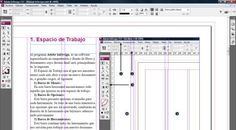 Breve tutorial que trata las herramientas y usos básicos del programa de maquetación Adobe InDesign CS3