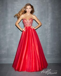 Night Moves 7003 in vivid red for #prom2014 #ipaprom