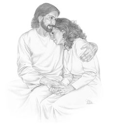 Jesus is always there for us; our part is to be receptive and attentive to Him!