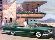 Plan59 :: Classic Car Art :: Vintage Ads :: 1959 Imperial