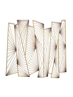 New Metal Screen Divider Art Deco Ideas Motif Art Deco, Art Deco Pattern, Wal Art, Verre Design, Decorative Screens, Decorative Accents, Metal Tree Wall Art, Metal Wall Art Decor, Metal Screen