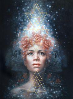 Dust to Stardust by Autumn Skye Hardcover Sketchbook, Bizarre Art, Pierce The Veil, Mixed Media Canvas, Cool Artwork, Traditional Art, Friends In Love, Fine Art Paper, Giclee Print