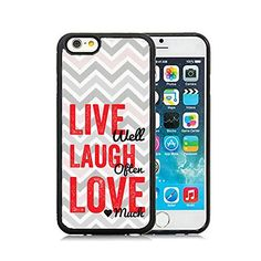 nice CorpCase iPhone 6 Case / iPhone 6 4.7 Inch Case TPU + PU Leather Back - Inspirational Quote Verse Live Well Love Laugh Soft Case Protective TPU Cell Phone Case Cover iPhone 6 (4.7)