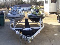 2005 SeaDoo RXT & 2006 SeaDoo GTX jet skis, both with 215-hp supercharged 4-stroke motors. For sale by owner...SOLD! www.HelpSellMyRV.com Louisville Kentucky 502-645-3124