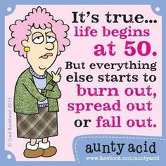 Life begins at fifty