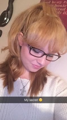 How to fake bangs with your own hair! Use a Headband to cover the Bobby pins!
