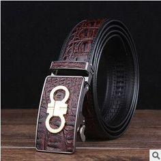 2015 genuine Leather Belts For Men mens belts luxury designer belts men high quality crocodile grain Jeans pants Leopard belts Designer Belts, Luxury Designer, Leopard Belt, Hermes Belt, Leather Belts, Belt Tying, New York Fashion, Jeans Pants, Crocodile
