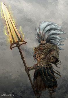 Dark Souls 3: The Nameless King by MenasLG