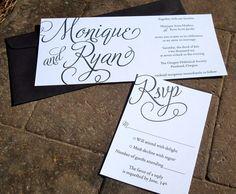 Wedding invite idea... love it!