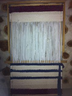 Woven Rag Rug #3. Made by me LKV :)