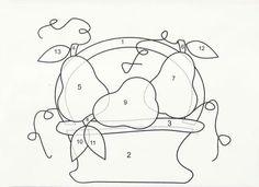 Patrón cesta de frutas | Actualpatch (Els Encants Vells de Barcelona)