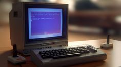C64 with Monitor 1702