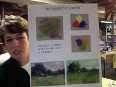 Karen Margulis: Tips for Painting Interesting Greens with Pastels - YouTube