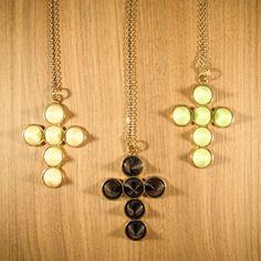 Colar Cruz Spike  #cross #spike #acessorios #necklace
