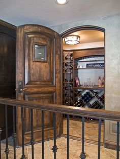 I think every dream home should have a tasting room!