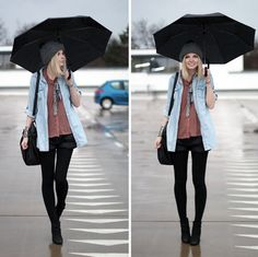 shorts in the rain. a must!