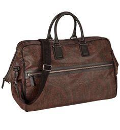 Travel bag by Etro http://www.eckerle.de/accessoires/taschen/etro-tasche-braun.html?seite=2&hs=%23%21seite%3D2&farbe=braun