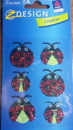 Etichette per decorare Zdesign Creative No. 55644 Coccinelle