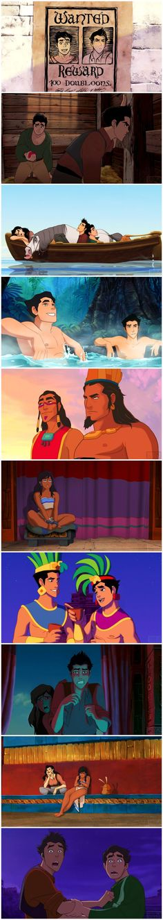 Legend of Korra - The Road to El Dorado parody soooo I'm guessing Korra n Maka did.... Uk..... The thing.... http://ibeebz.com