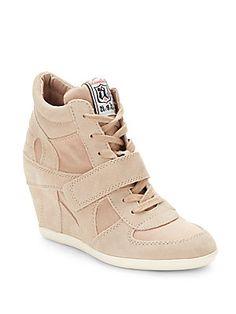 Bowie Wedge Sneakers - SaksOff5th