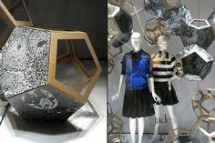 Jade DNA Windows, Jakarta – Indonesia Via Retail Design Blog #inspiration #shopwindows #visualmerchandising #fashion #design