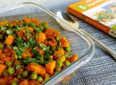 Skinny Curried Sweet Potatoes with Green Peas - 3 PointsPlus