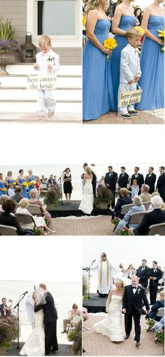 Joanna Brown Photography A Backyard Beach Wedding Planned In Three Weeks Nellie Matt Weddings Pinterest Planning And
