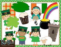 St. Patrick's Day Clip Art | Patrick o'brian, St. patrick's day ...