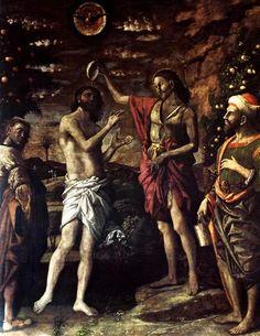 The Baptism of Christ, 1506 - Andrea Mantegna