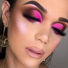 Pink eye makeup is probably one of the most favorite and cha […] Makeup Eye Looks, Pink Eye Makeup, Colorful Eye Makeup, Beautiful Eye Makeup, Mac Makeup, Cute Makeup, Smokey Eye Makeup, Skin Makeup, Eyeshadow Makeup