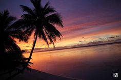 Sunrise on Cook Islands