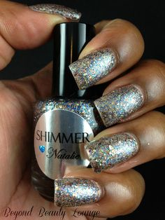 Shimmer Nail Polish Swatches