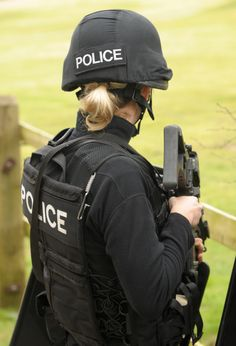 Female Swat Police Officer